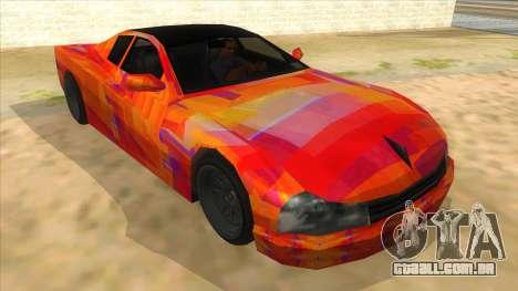 GTA 3 Cheetah ZTR para GTA San Andreas vista direita