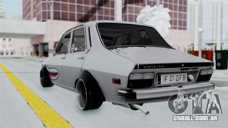 Dacia 1300 Shark (GFB V4) para GTA San Andreas esquerda vista