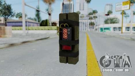 GTA 5 Stickybomb para GTA San Andreas