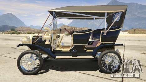 Ford T 1910 Passenger Open Touring Car para GTA 5
