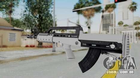 GTA 5 Bullpup Rifle - Misterix 4 Weapons para GTA San Andreas segunda tela