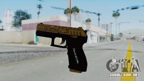 GTA 5 Online Lowriders DLC Combat Pistol para GTA San Andreas segunda tela