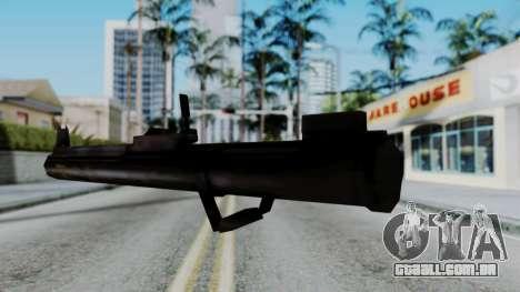 GTA 3 Rocket Launcher para GTA San Andreas