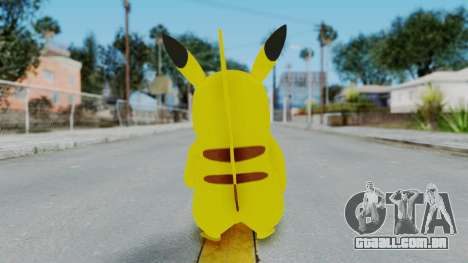 Dancing Pokemon Band - Pikachu para GTA San Andreas terceira tela