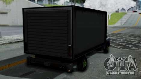 Yankee with StickerBombing para GTA San Andreas esquerda vista
