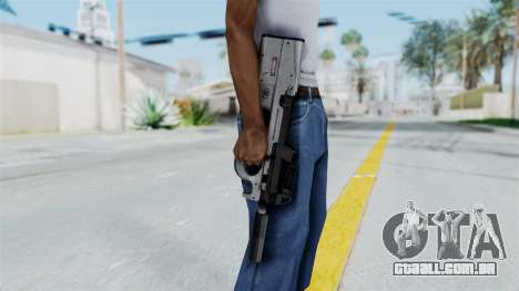 P90 Grey para GTA San Andreas terceira tela
