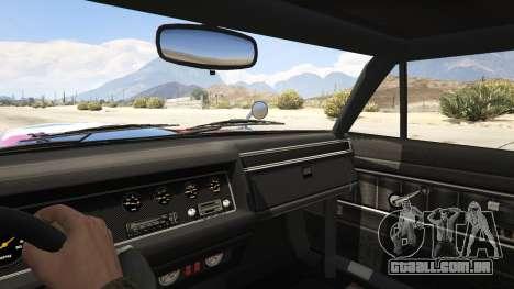 GTA 5 Death Proof Stallion traseira direita vista lateral