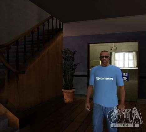 T-Shirt VKontakte para GTA San Andreas