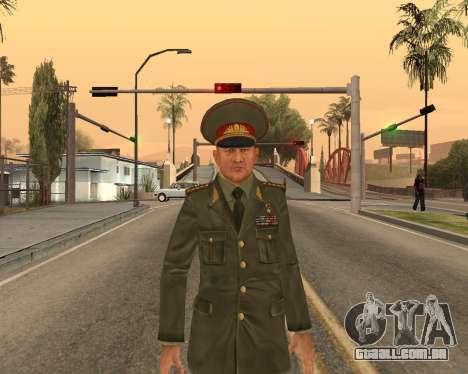O exército russo Skin Pack para GTA San Andreas nono tela