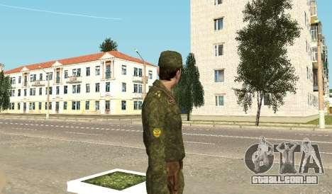 Soldados das forças armadas para GTA San Andreas terceira tela