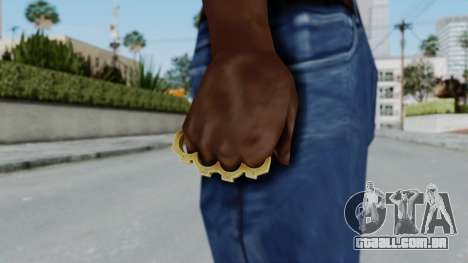 The Vagos Knuckle Dusters from Ill GG Part 2 para GTA San Andreas terceira tela