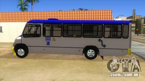 CAMION R622 para GTA San Andreas traseira esquerda vista