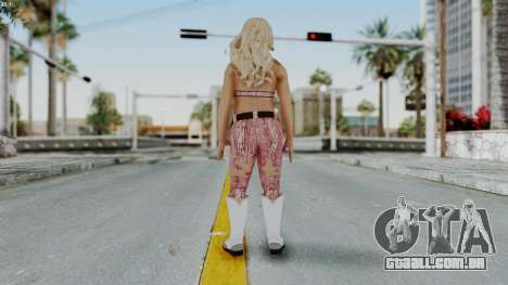 WWE Natalya para GTA San Andreas terceira tela