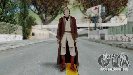 SWTFU - Luke Skywalker Spirit Apprentice Outfit para GTA San Andreas segunda tela