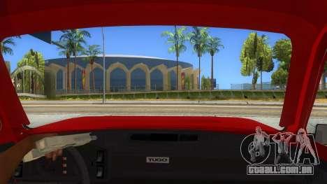 Zastava Poly 1.1 para GTA San Andreas vista interior