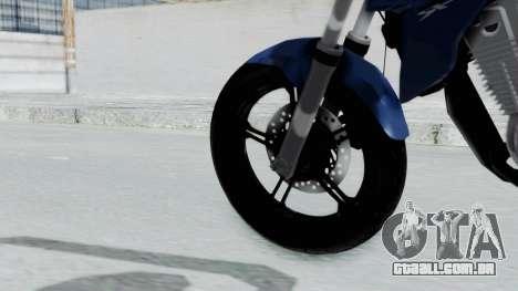 Honda CB300R para GTA San Andreas traseira esquerda vista