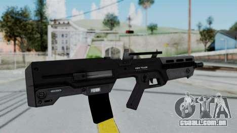 GTA 5 Advanced Rifle - Misterix 4 Weapons para GTA San Andreas segunda tela