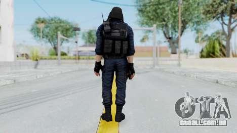 GIGN 1 Masked from CSO2 para GTA San Andreas terceira tela
