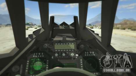 GTA 5 Lockheed F-117 Nighthawk Black 2.0 quarto screenshot