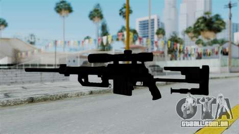 M2000 CheyTac Intervention without Stands para GTA San Andreas terceira tela