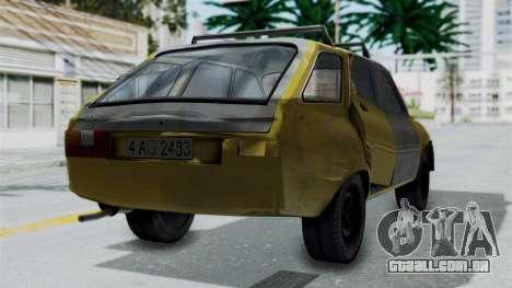 Dacia 1325 Liberta Rusty para GTA San Andreas esquerda vista