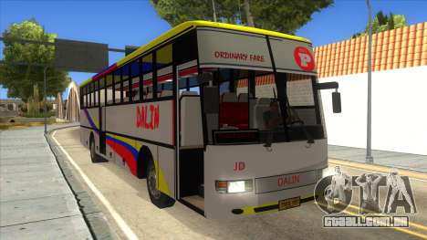 Dalin Ordinary para GTA San Andreas vista interior