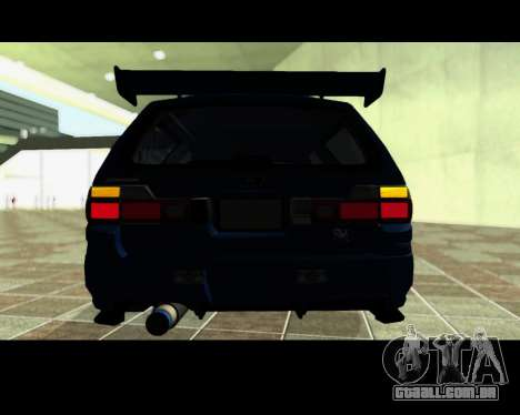 Nissan Stagea Tunable para GTA San Andreas interior