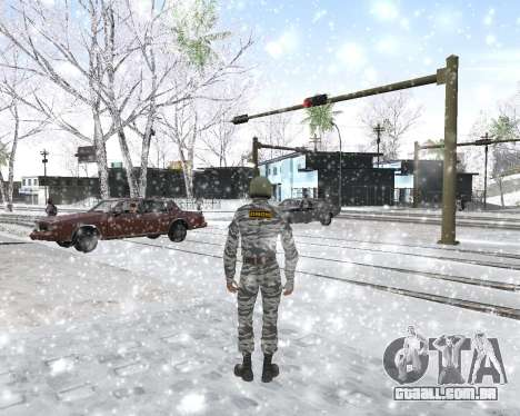 O OMON para GTA San Andreas sexta tela