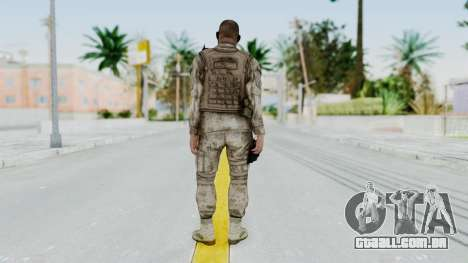 Crysis 2 US Soldier 6 Bodygroup A para GTA San Andreas terceira tela