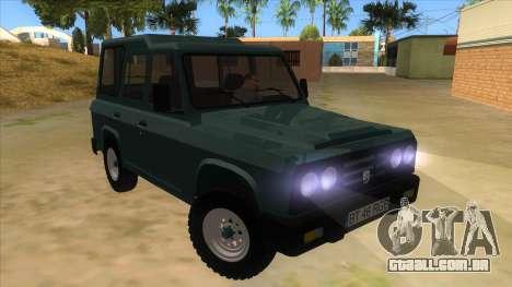 Aro 246 (1996) para GTA San Andreas vista traseira