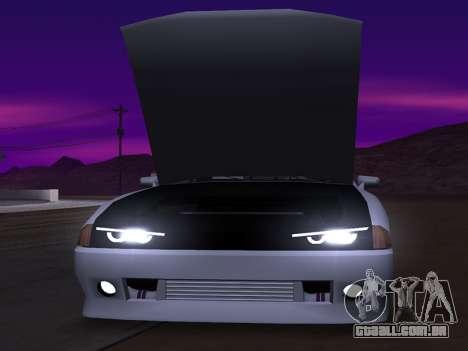 Elegy Evolution para GTA San Andreas traseira esquerda vista