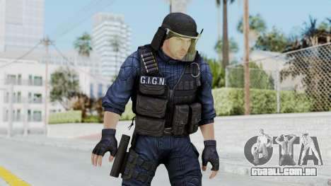GIGN 1 No Mask from CSO2 para GTA San Andreas