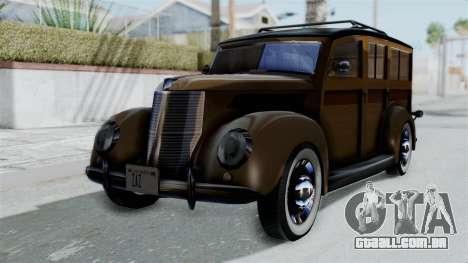 Lincoln Continental 1942 Mafia 2 v1 para GTA San Andreas