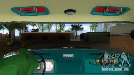 ZIL 130 CA-40 para GTA San Andreas vista interior