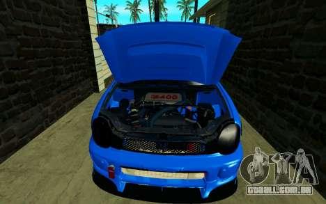 Subaru Impreza WRX STi Wagon 2003 para GTA San Andreas vista traseira