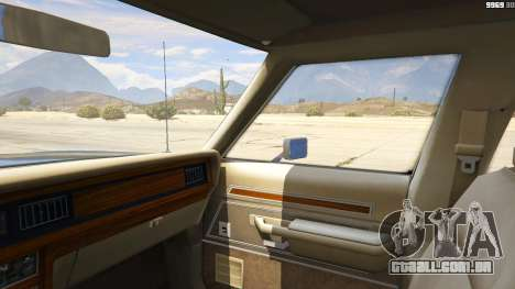 GTA 5 1987 Ford LTD Crown Victoria vista lateral direita