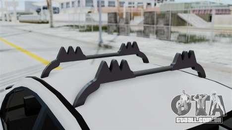 Hyundai Accent Essential Garage para GTA San Andreas vista traseira