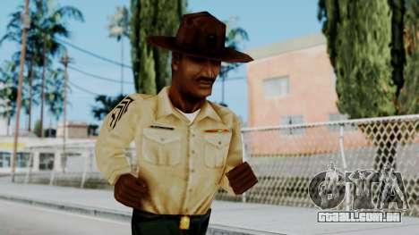 Instructor v2 from Half Life Opposing Force para GTA San Andreas