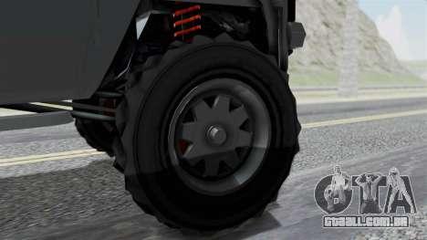 GTA 5 Karin Rebel 4x4 IVF para GTA San Andreas traseira esquerda vista