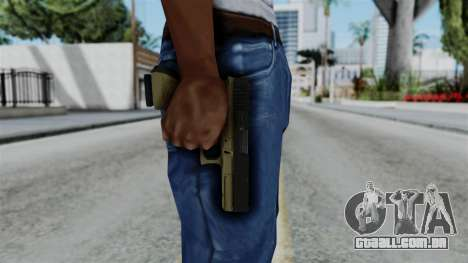 No More Room in Hell - Glock 17 para GTA San Andreas terceira tela