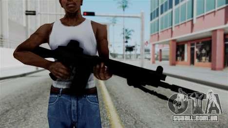 FN-FAL from CS GO with EoTech para GTA San Andreas terceira tela