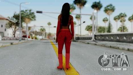 WWE Naomy para GTA San Andreas terceira tela