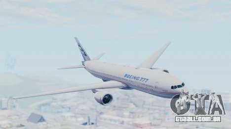 Boeing 777-200 Prototype para GTA San Andreas
