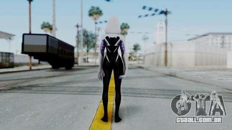 Marvel Future Fight Spider Gwen v2 para GTA San Andreas terceira tela