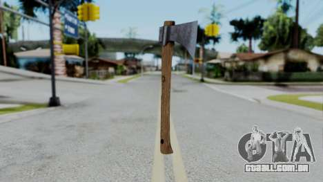 No More Room in Hell - Hatchet para GTA San Andreas
