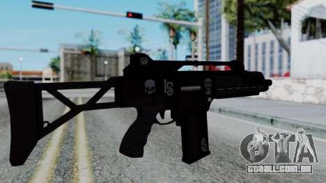 G36k from GTA 5 para GTA San Andreas segunda tela