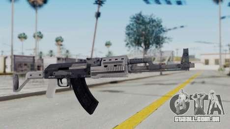 GTA 5 Assault Rifle - Misterix 4 Weapons para GTA San Andreas