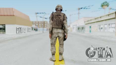 Crysis 2 US Soldier 1 Bodygroup A para GTA San Andreas terceira tela