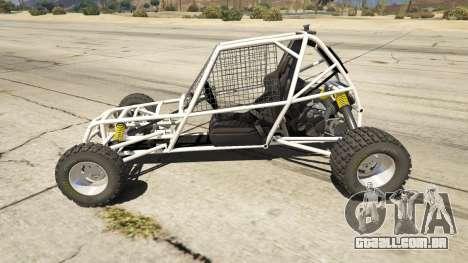 GTA 5 Kart Cross vista lateral esquerda