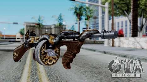 Dragon Thompson para GTA San Andreas segunda tela